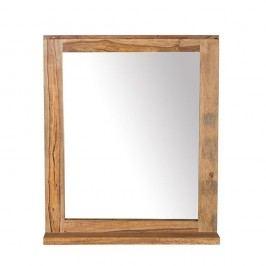 Oglindă de perete din lemn de palisandru Woodking Lee